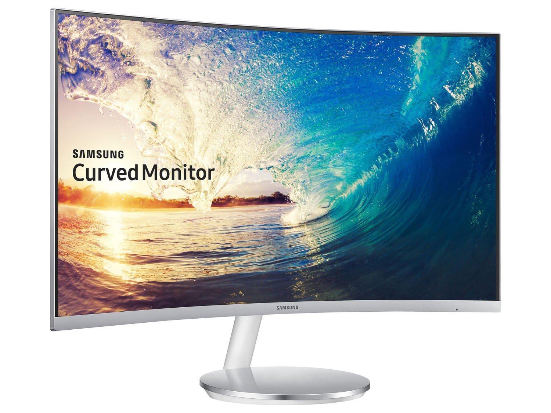 Foto 7 - Monitor para PC Full HD Samsung LED Curvo - Widescreen 27 C27F591FDL