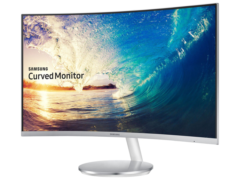 Foto 11 - Monitor para PC Full HD Samsung LED Curvo - Widescreen 27 C27F591FDL
