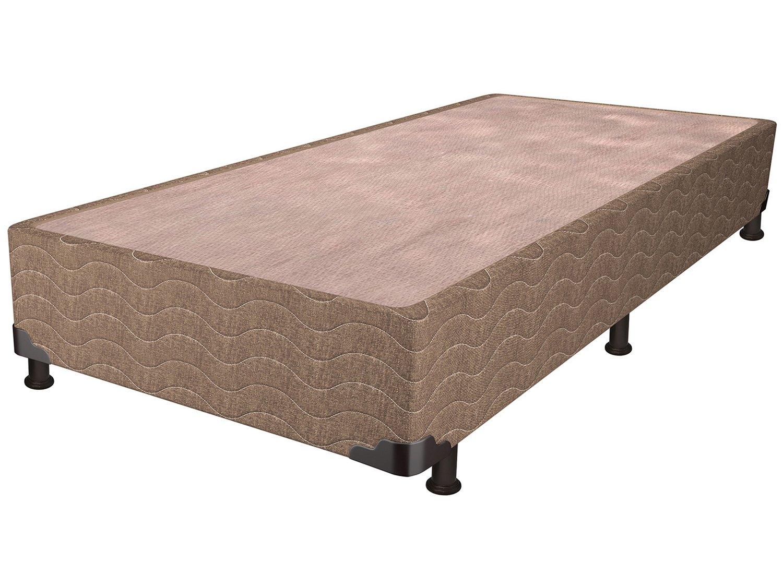 Base Cama Box Solteiro Probel 26cm de Altura - Linho