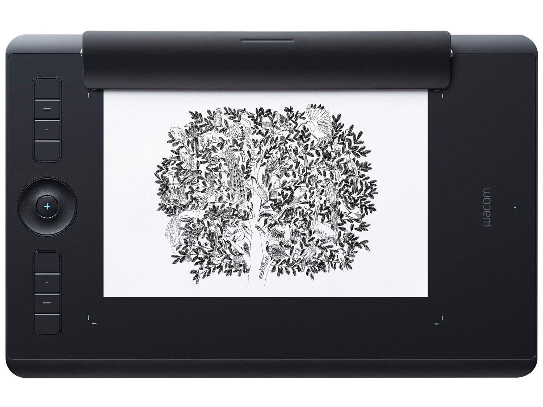Foto 2 - Mesa Digitalizadora Wacom Intuos Pro Pen-Paper - Média PTH660