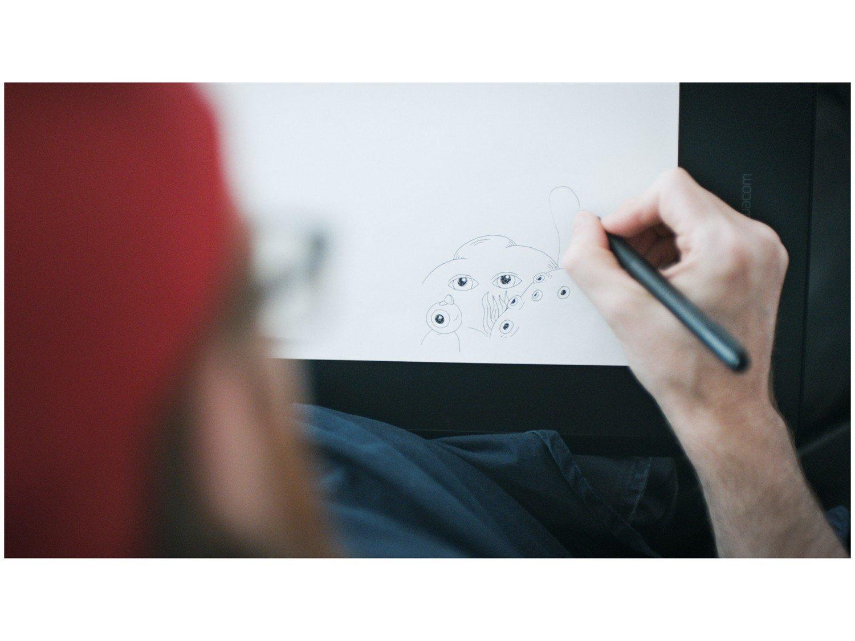 Foto 10 - Mesa Digitalizadora Wacom Intuos Pro Pen-Paper - Média PTH660