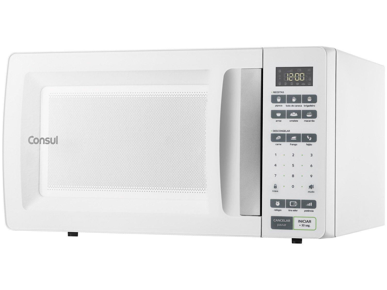Forno de Micro-ondas Consul CMS45AB com Função Tira Odor - 32 Litros - 127V