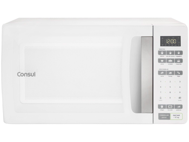 Forno de Micro-ondas Consul CMS45AB com Função Tira Odor - 32 Litros - 127V - 6