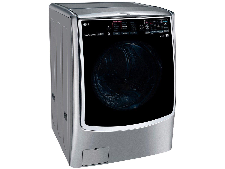 Lava e Seca LG WD17VTS6 Automática com Controle Touch 17KG – Inox - 110V