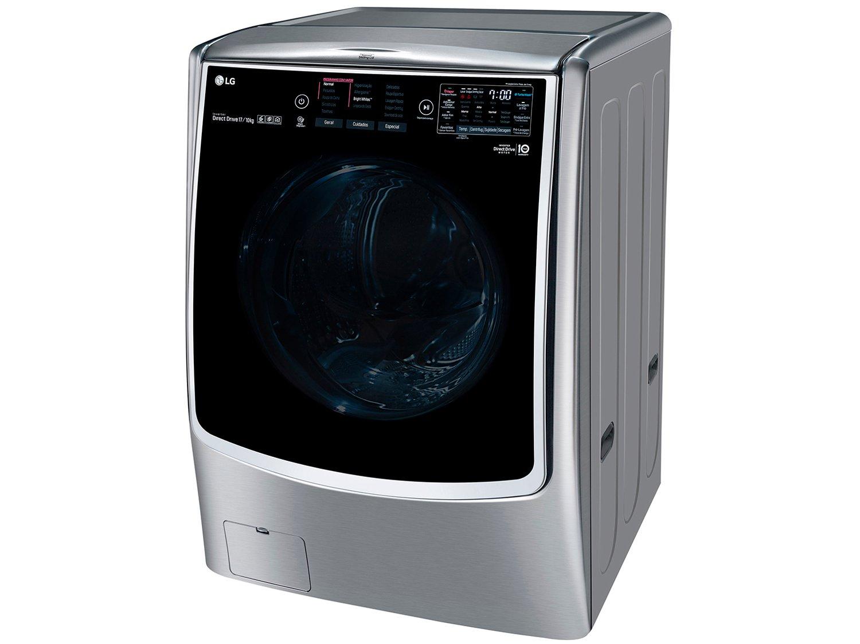 Lava e Seca LG WD17VTS6 Automática com Controle Touch 17KG – Inox - 110V - 9
