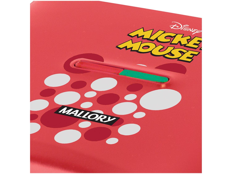 Sanduicheira/Grill Mallory Mickey Mouse - 750W Antiaderente Vermelho - 110 V - 4