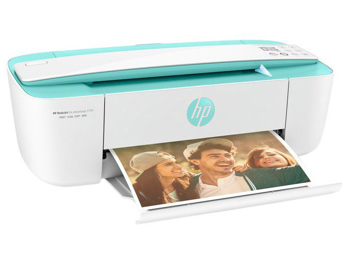 Foto 5 - Multifuncional HP Deskjet Ink Advantage 3790 - Jato de Tinta Colorida LCD Wi-Fi
