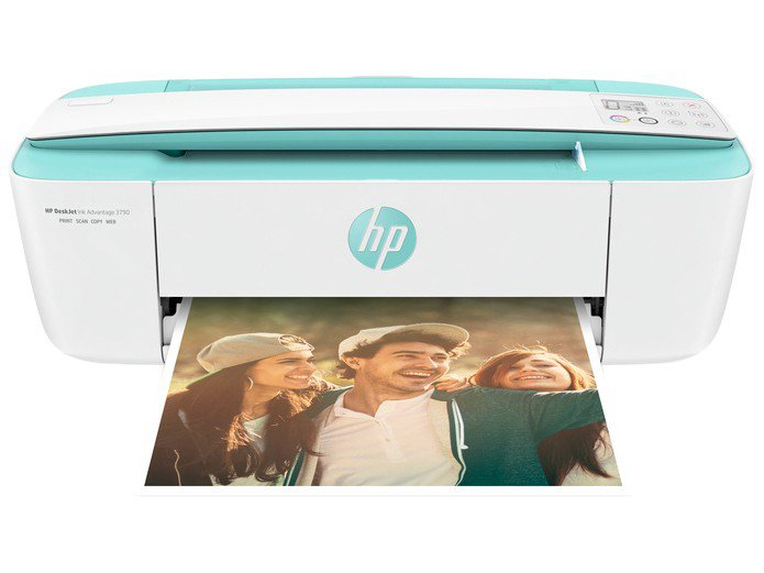 Foto 6 - Multifuncional HP Deskjet Ink Advantage 3790 - Jato de Tinta Colorida LCD Wi-Fi