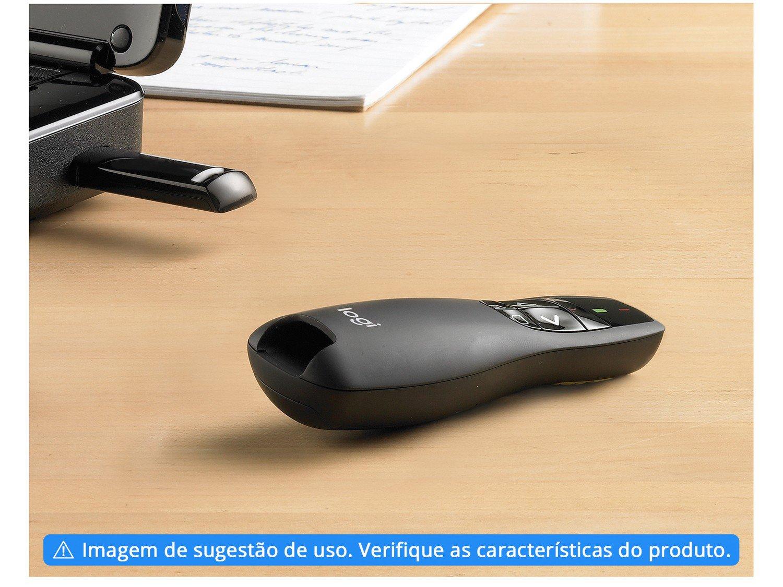 Apresentador sem Fio Logitech R400 com Laser USB - Alcance de 10m - 1