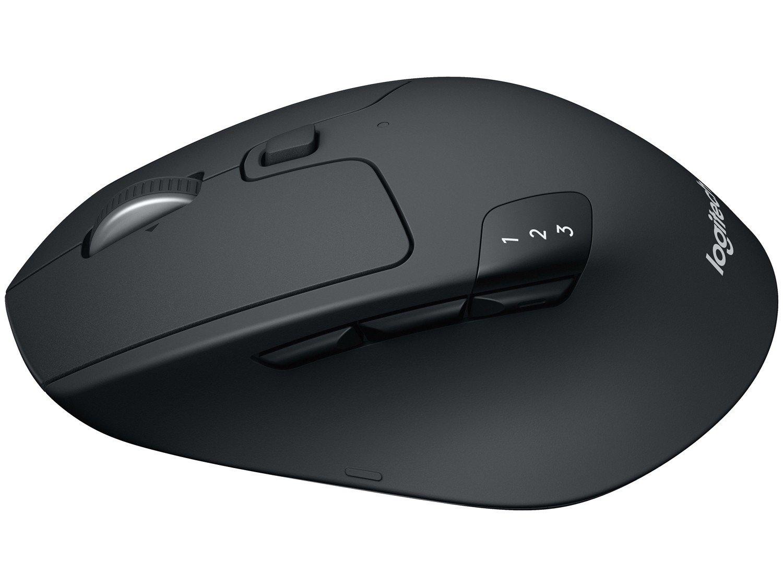 Foto 6 - Mouse Sem Fio Óptico 1000 dpi Logitech - M720 Triathlon