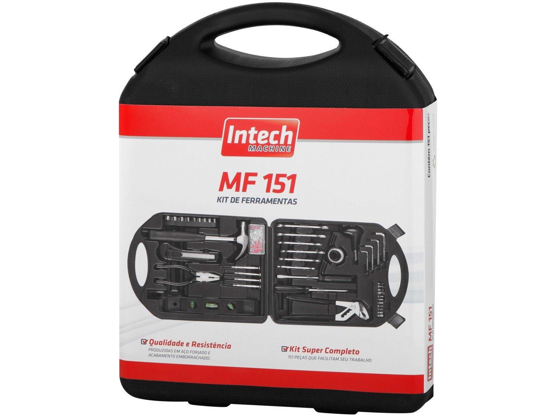 Kit Ferramentas Intech Machine 151 Peças - MF151 - 16