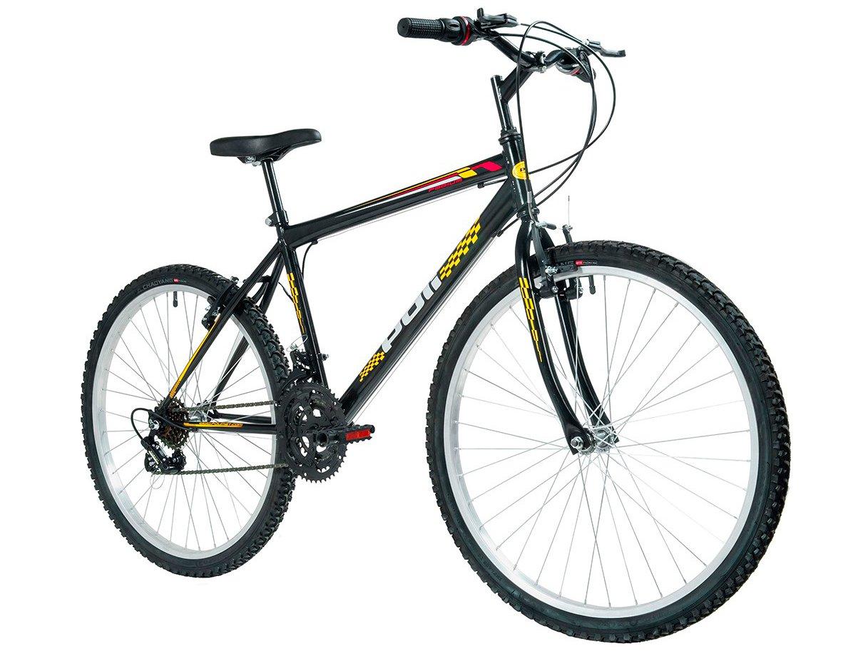Foto 4 - Bicicleta Polimet 7134 Aro 26 18 Marchas - Freio V-Brake