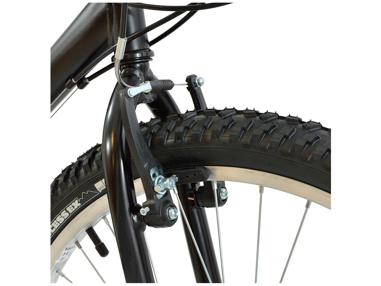 Foto 7 - Bicicleta Polimet 7134 Aro 26 18 Marchas - Freio V-Brake