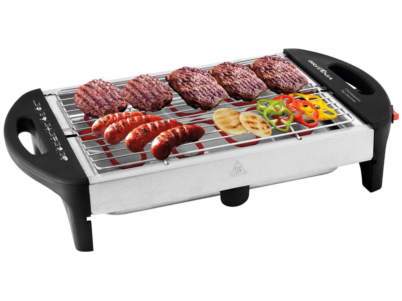 Churrasqueira Elétrica Britânia Top Gourmet 1600W - 220V - 6