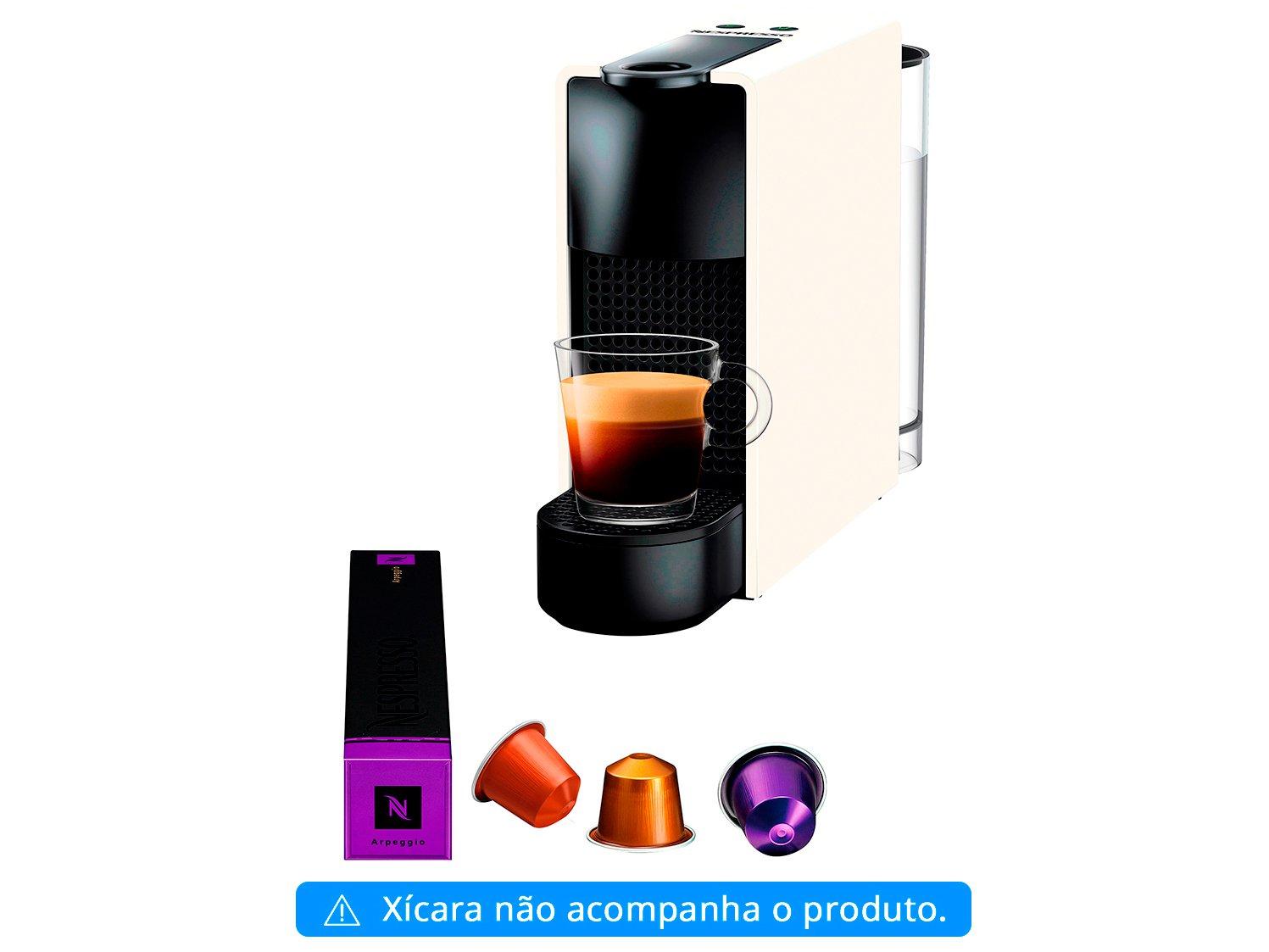 Foto 4 - Cafeteira Expresso 19 Bar Nespresso Essenza Mini - Branca