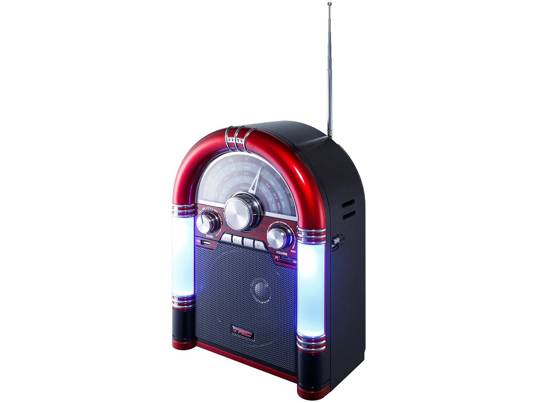 Caixa de Som Bluetooth TRC 210 Retrô - 35W USB MP3 - Bivolt - 3