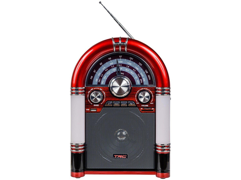 Caixa de Som Bluetooth TRC 210 Retrô - 35W USB MP3 - Bivolt - 4