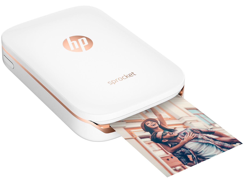 Foto 5 - Impressora Fotográfica para Smartphone HP - Sprocket 100 Colorida Wi-Fi