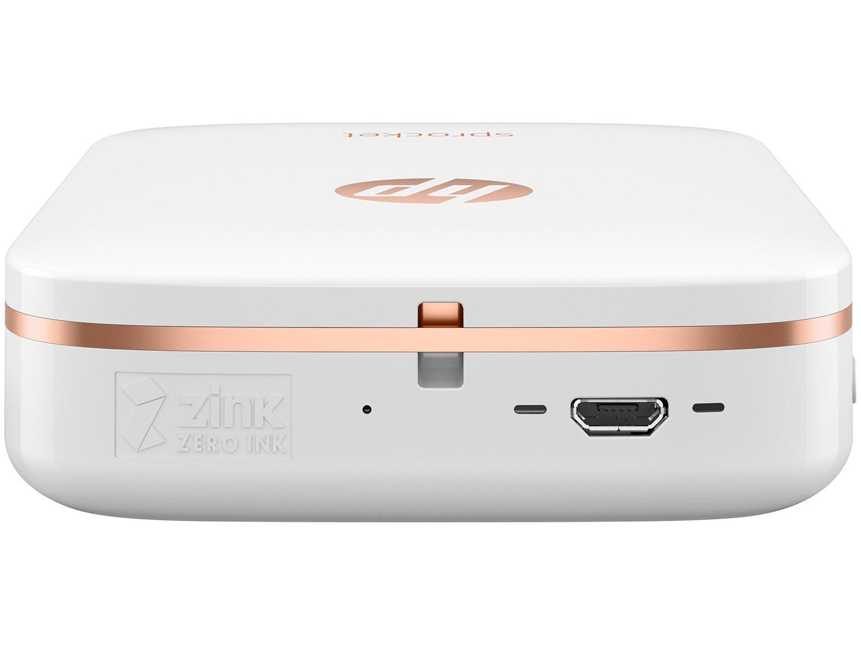 Foto 7 - Impressora Fotográfica para Smartphone HP - Sprocket 100 Colorida Wi-Fi