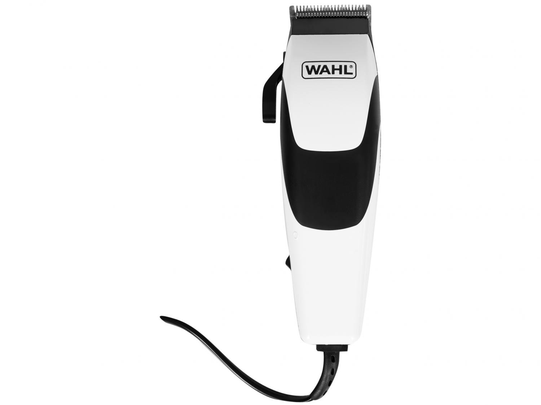 Máquina de Cortar Cabelo Wahl Quick Cut 10 pentes Branca/Preta - 220V - 4