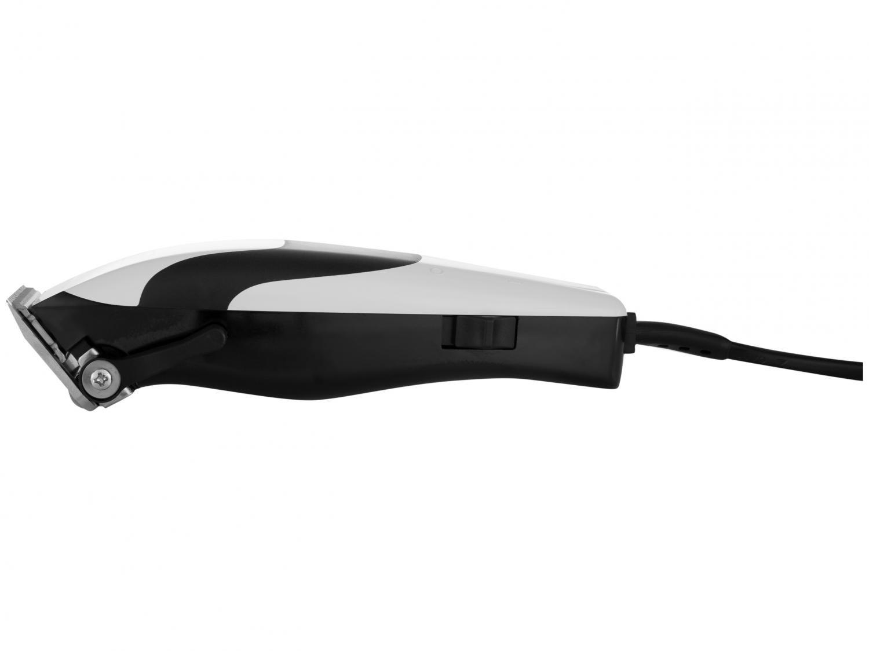 Máquina de Cortar Cabelo Wahl Quick Cut 10 pentes Branca/Preta - 220V - 8