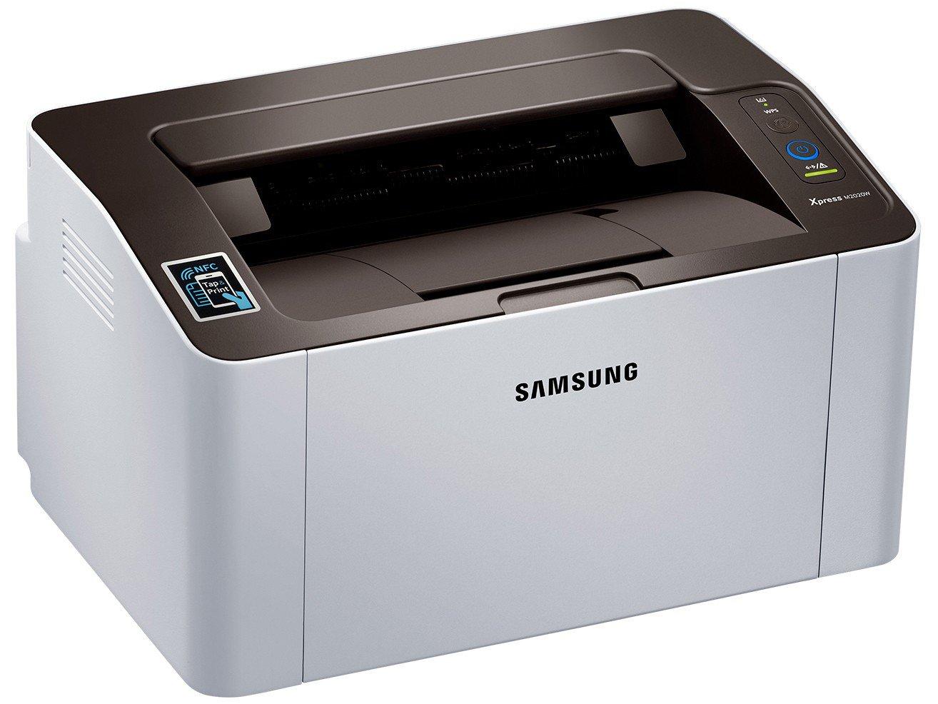 Foto 1 - Impressora Samsung Xpress SL-M2020W Wi-Fi - Monocromática USB NFC