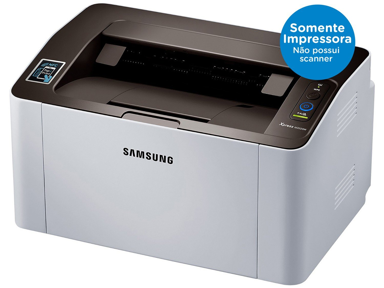 Foto 2 - Impressora Samsung Xpress SL-M2020W Wi-Fi - Monocromática USB NFC