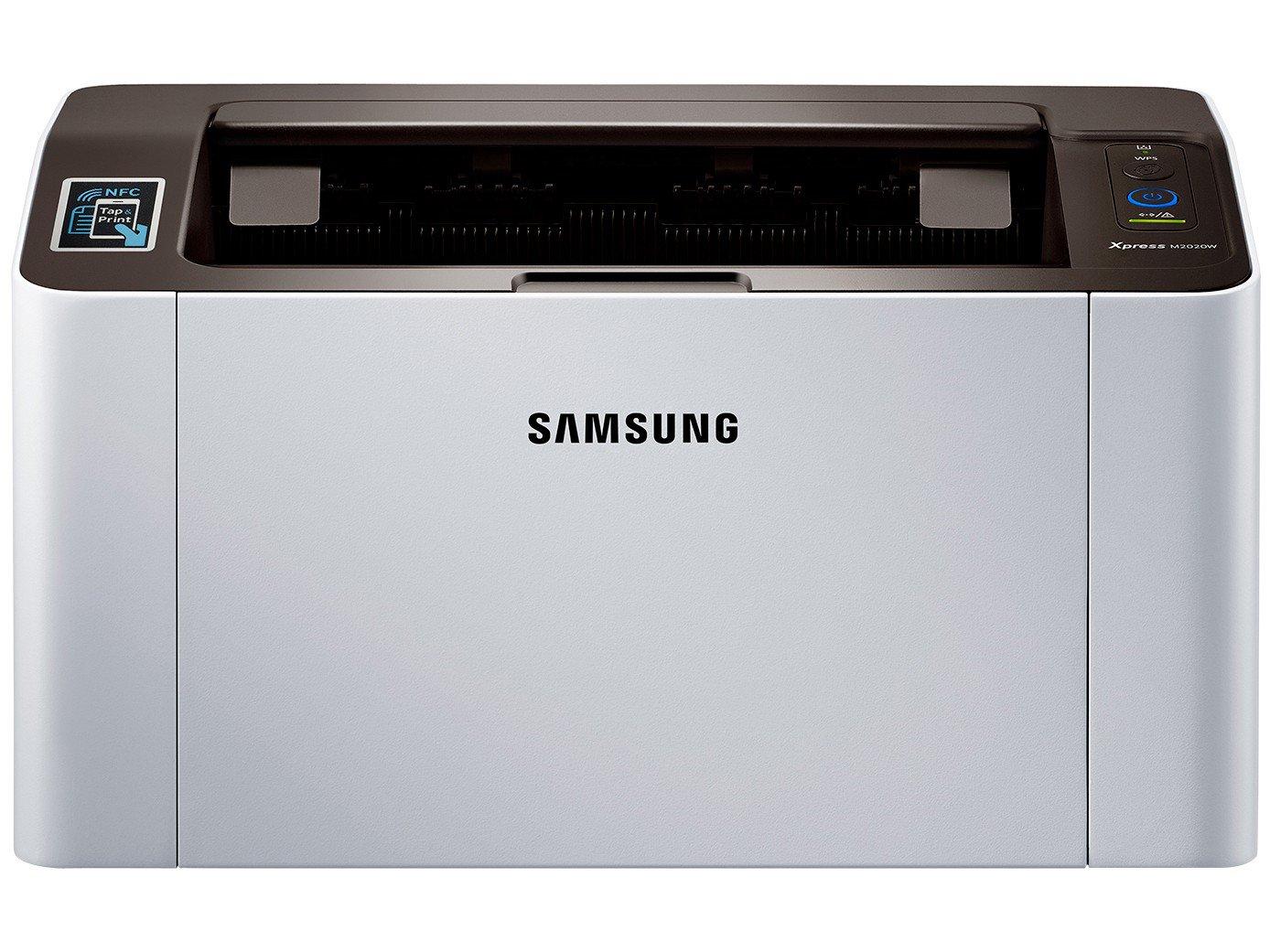 Foto 3 - Impressora Samsung Xpress SL-M2020W Wi-Fi - Monocromática USB NFC