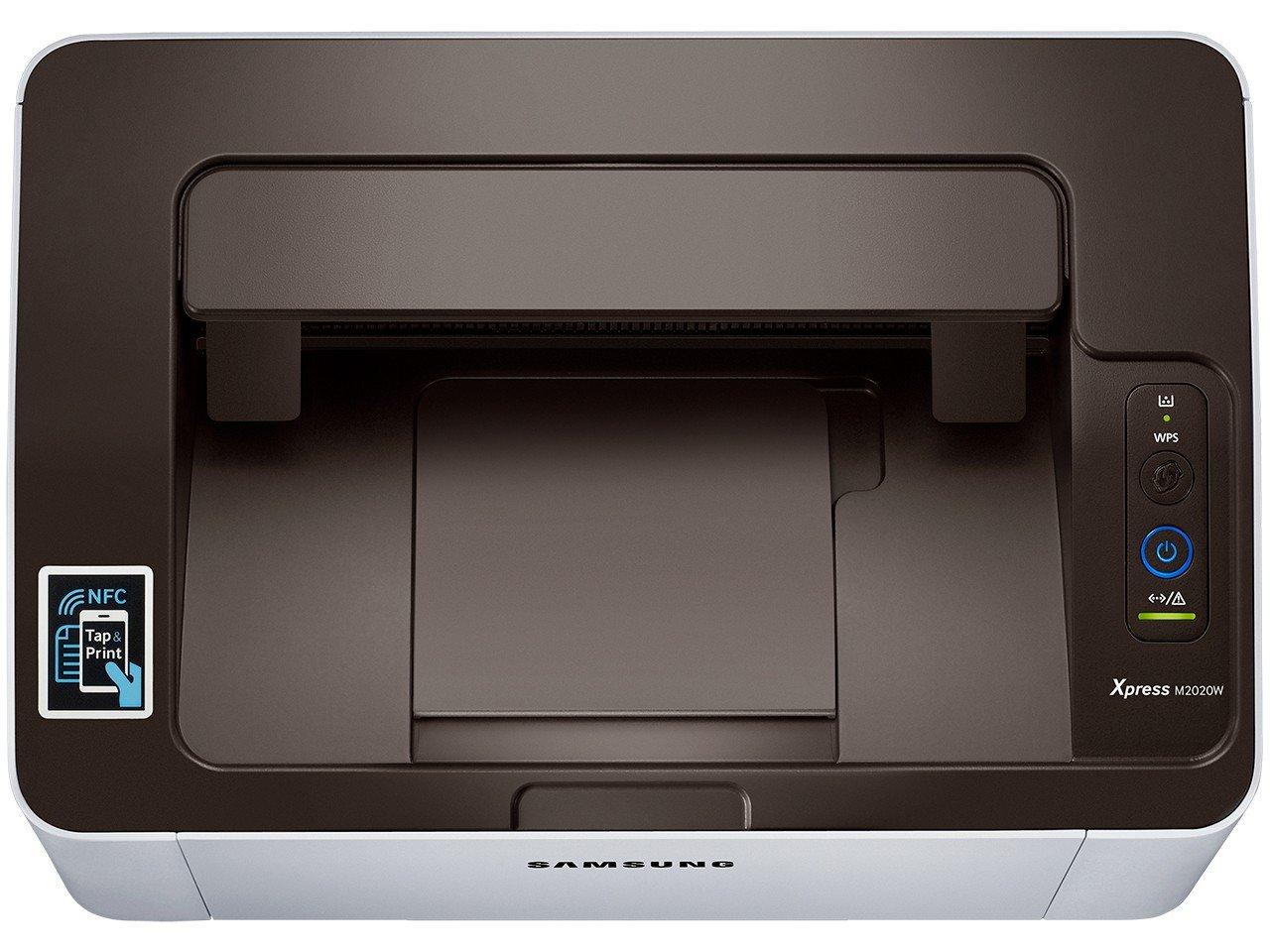 Foto 5 - Impressora Samsung Xpress SL-M2020W Laser - Wi-Fi USB NFC