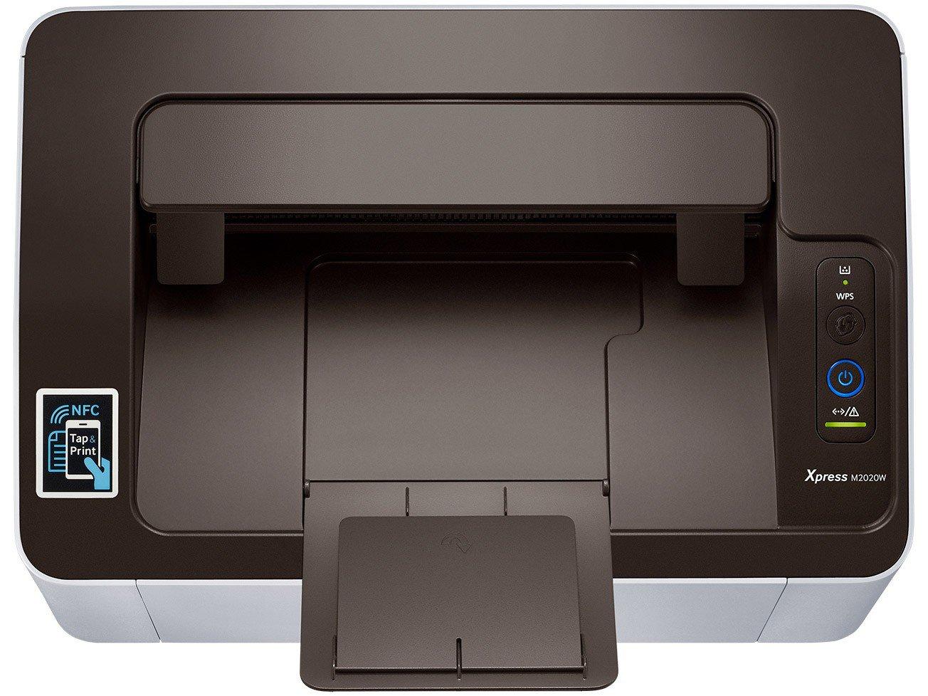 Foto 6 - Impressora Samsung Xpress SL-M2020W Laser - Wi-Fi USB NFC