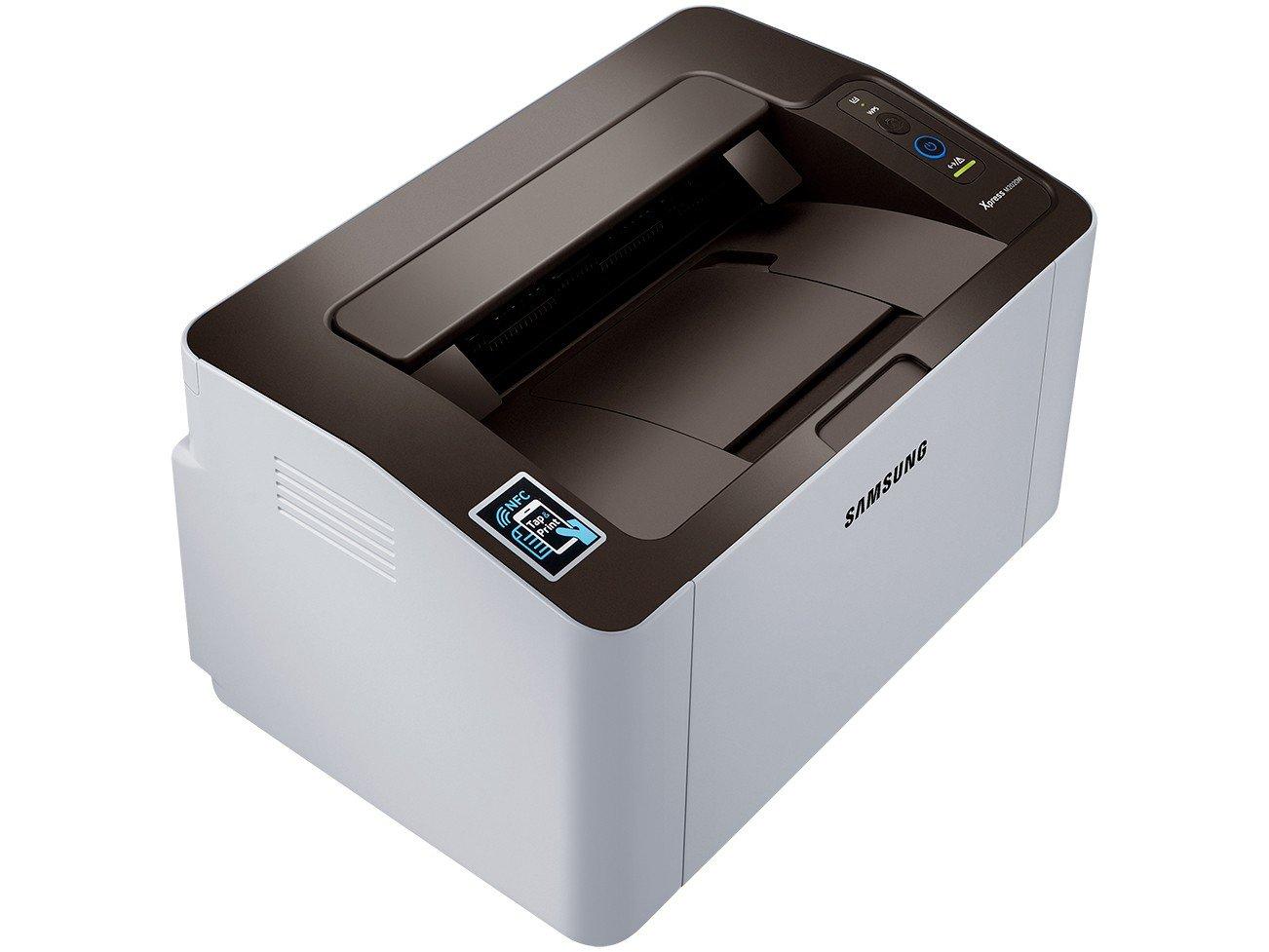 Foto 8 - Impressora Samsung Xpress SL-M2020W Laser - Wi-Fi USB NFC