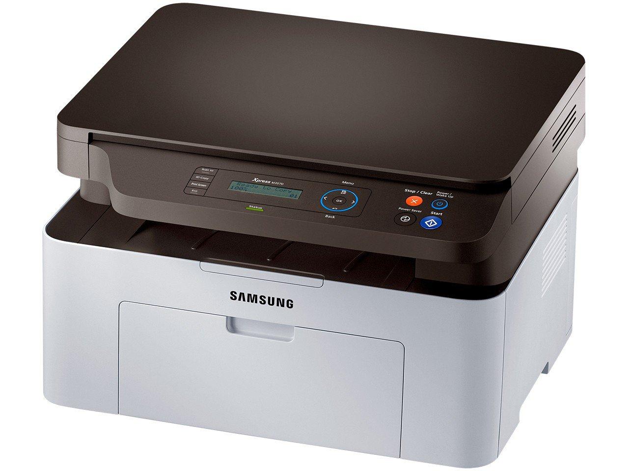 Foto 1 - Multifuncional Samsung Xpress M2070 - Monocromática Laser USB 2.0