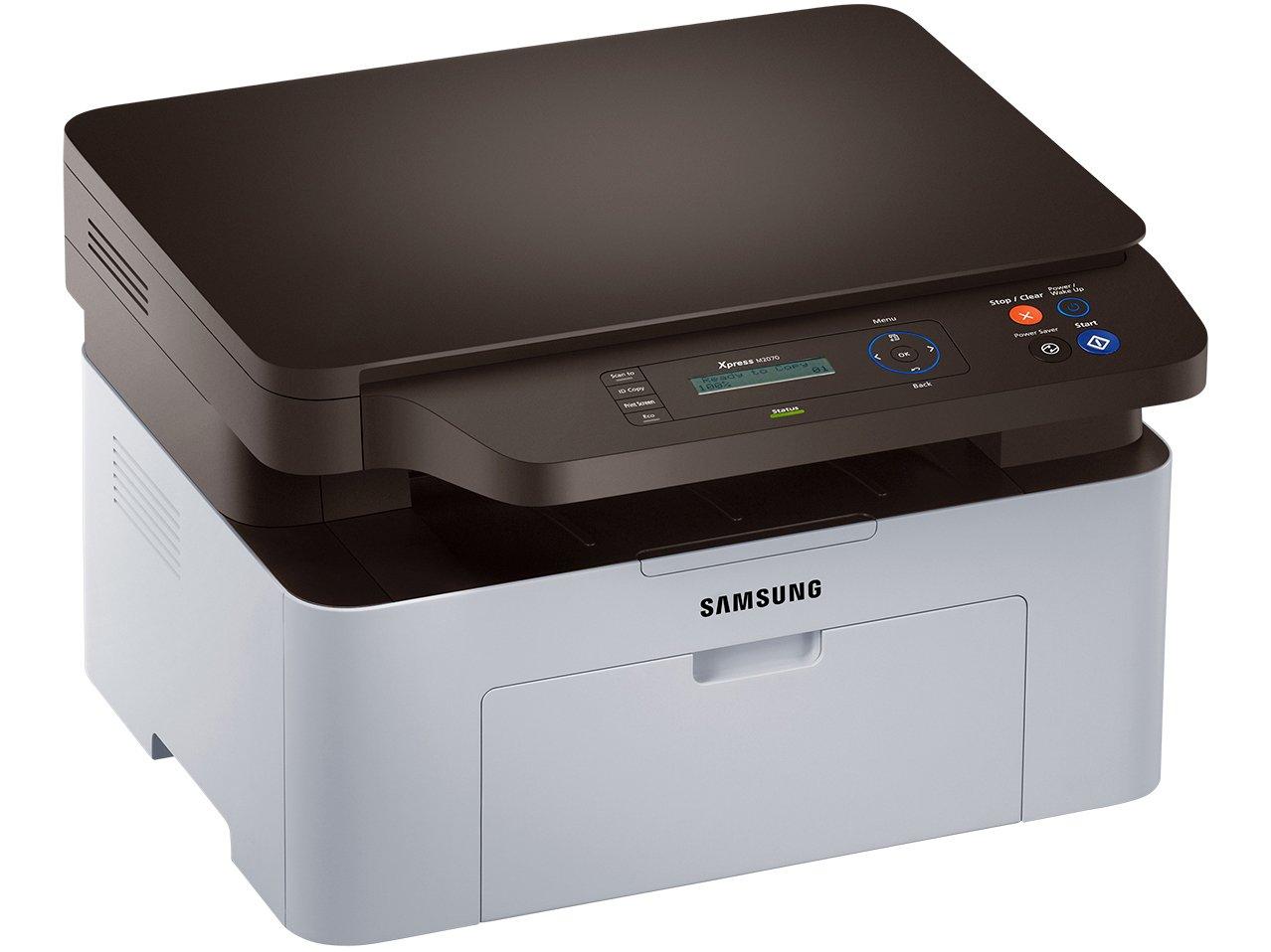 Foto 3 - Multifuncional Samsung Xpress M2070 - Monocromática Laser USB 2.0