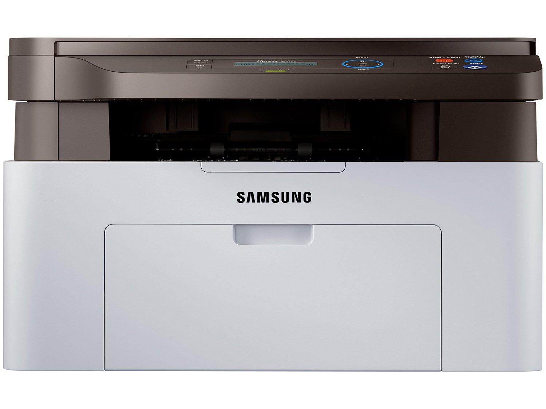 Foto 2 - Impressora Multifuncional Samsung SL-M2070W - Laser Wi-Fi Preto e Branco USB NFC