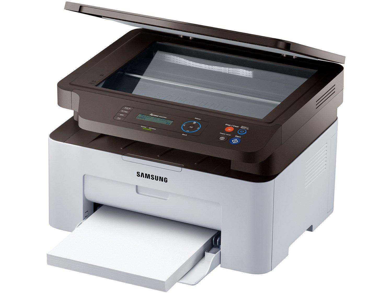 Foto 4 - Impressora Multifuncional Samsung SL-M2070W - Laser Wi-Fi Preto e Branco USB NFC