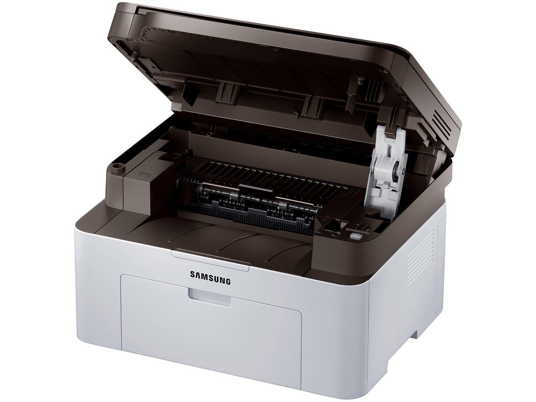 Foto 5 - Impressora Multifuncional Samsung SL-M2070W - Laser Wi-Fi Preto e Branco USB NFC