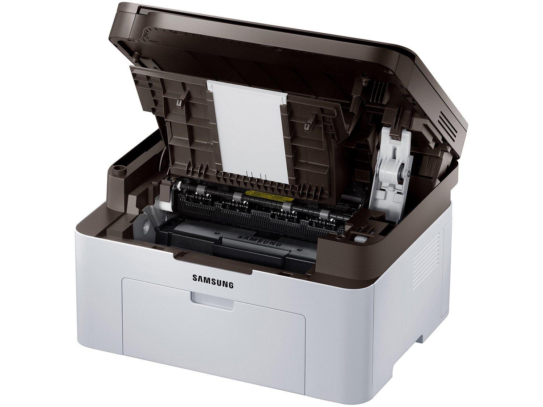 Foto 6 - Impressora Multifuncional Samsung SL-M2070W - Laser Wi-Fi Preto e Branco USB NFC