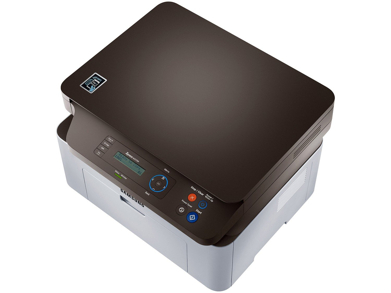 Foto 7 - Impressora Multifuncional Samsung SL-M2070W - Laser Wi-Fi Preto e Branco USB NFC