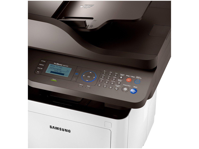 Foto 9 - Multifuncional Samsung Xpress M4075FR Laser - LCD 4 Linhas USB 2.0