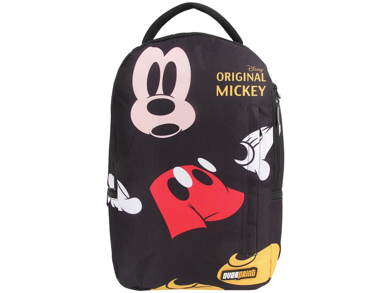Foto 4 - Mochila Infantil Escolar Tam. G Dermiwil - Overprint Mickey Mouse