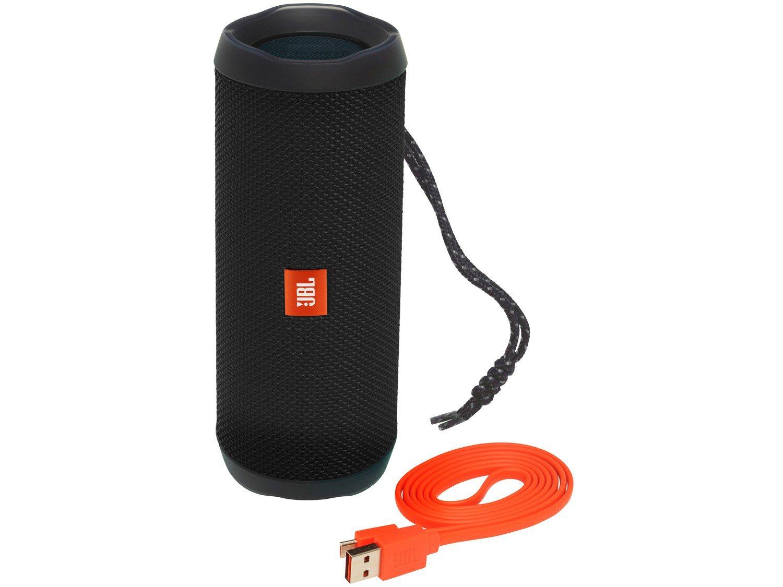 Caixa de Som Bluetooth JBL Flip 4 à Prova de Água - Portátil 16W USB - Bivolt