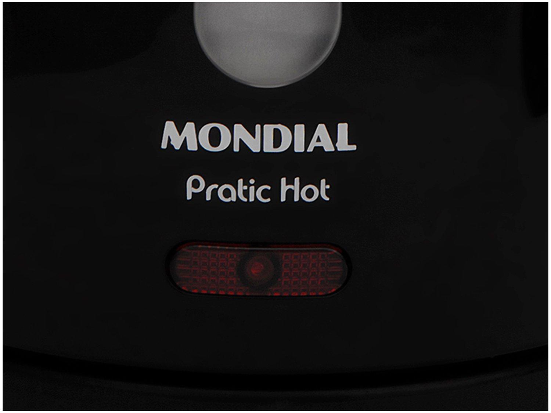Chaleira Mondial Elétrica Pratic Hot com Capacidade 1 Litro CE-07 - Preta - 220V - 8