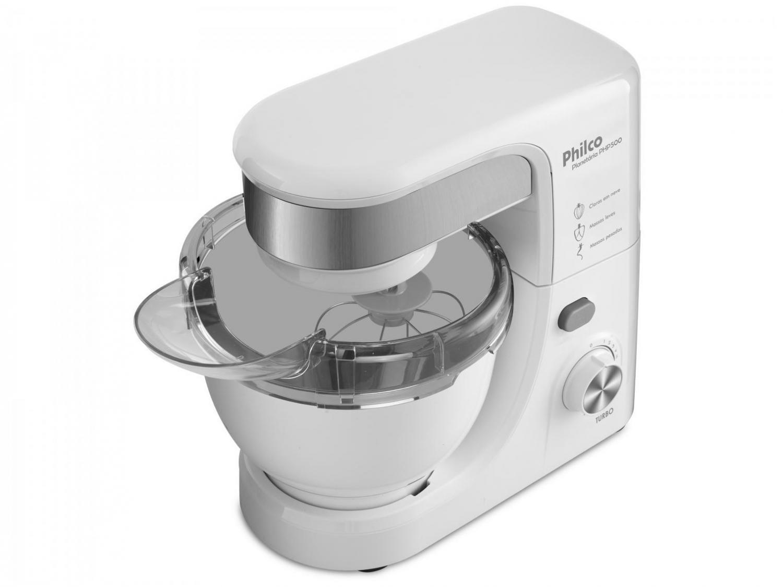 Batedeira Planetária Philco PHP500 Turbo com 11 Velocidades – Branca - 110V - 4