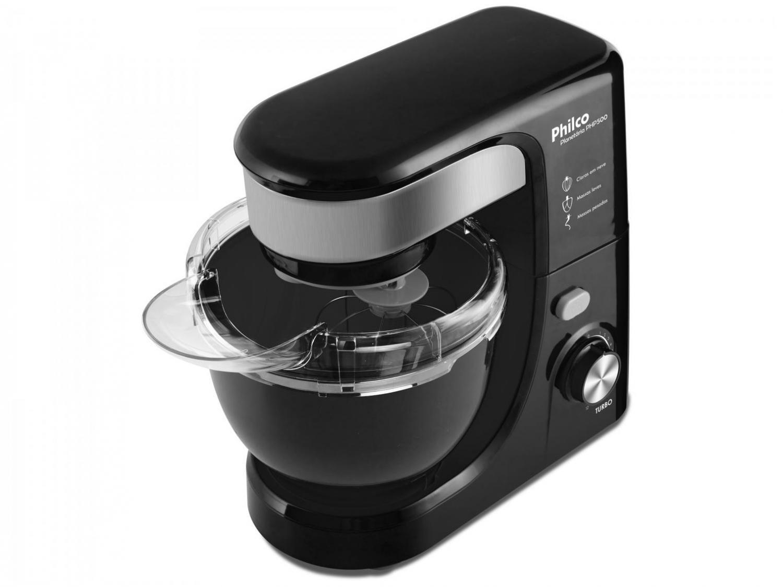 Batedeira Planetária Philco PHP500 Turbo com 11 Velocidades – Preto - 110V - 4