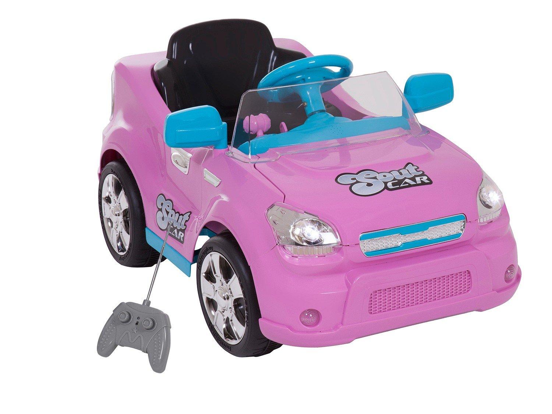 Carro Elétrico Infantil Soutcar - com Controle Remoto Emite Sons 6V Xplast - Bivolt