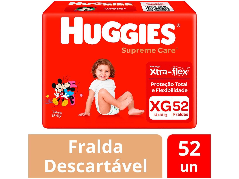 Fralda Huggies Turma da Mônica Supreme Care - 4