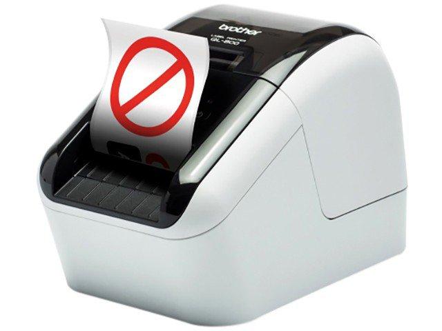Foto 4 - Impressora de Etiquetas Brother QL810W - Monocromática com WiFi