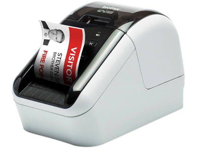 Foto 5 - Impressora de Etiquetas Brother QL810W - Monocromática com WiFi