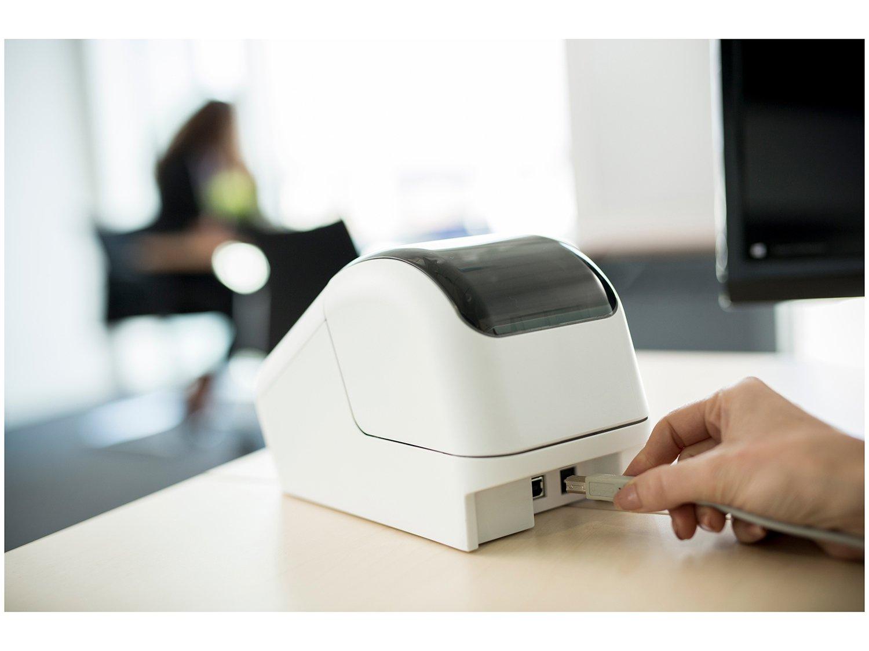 Foto 9 - Impressora de Etiquetas Brother QL810W - Monocromática com WiFi