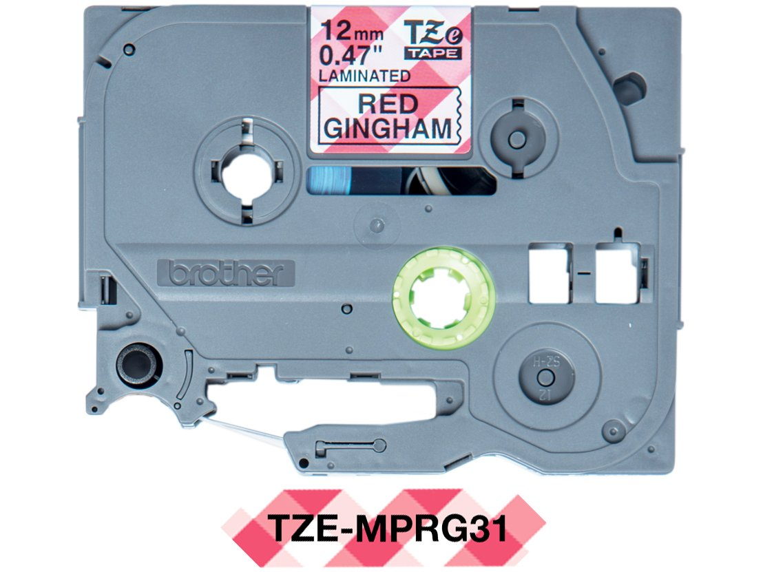 Foto 1 - Fita para Rotulador Brother TZE 12mm - 4 Metros